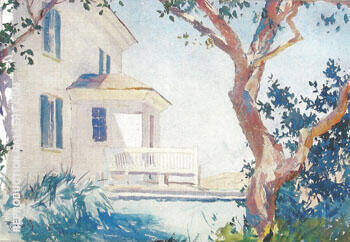 The Farmhouse The Artist's Home 1024 By Frank Weston Benson