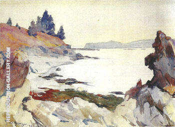 Wooster Cove 1923 By Frank Weston Benson Replica Paintings on Canvas - Reproduction Gallery
