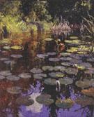 Lily Pond 1923 By Frank Weston Benson