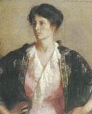Portrait of Elisabeth c.a. 1918 By Frank Weston Benson