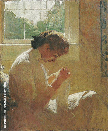 The Sunny Window 1919 By Frank Weston Benson