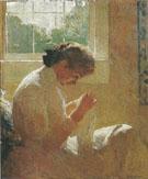 The Sunny Window 1919 By Frank Weston Benson