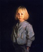 Portrait of a Boy By Frank Weston Benson
