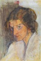 Self Portrait 1897 By Paula Modersohn-Becker