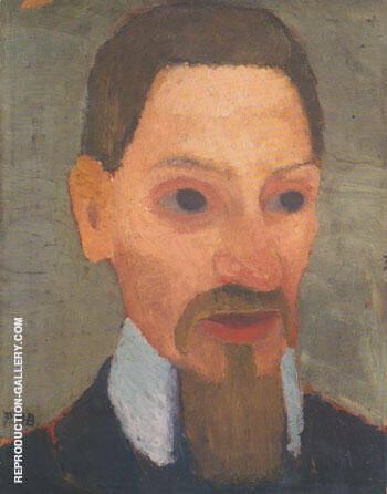 Rainer Maria Rilke 1906 By Paula Modersohn-Becker