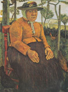 Old Poorhouse Woman 1905 By Paula Modersohn-Becker