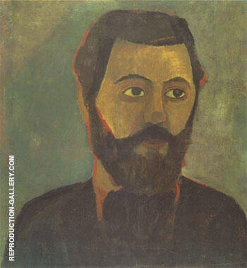 Werner Sombart 1906 By Paula Modersohn-Becker Replica Paintings on Canvas - Reproduction Gallery