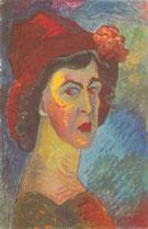 Self Portrait 1908/10 By Paula Modersohn-Becker