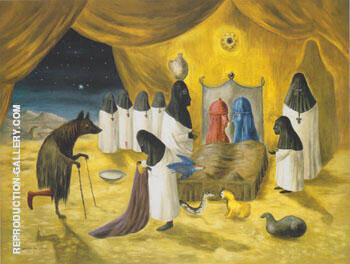 Oil Painting Reproductions of Leonora Carrington