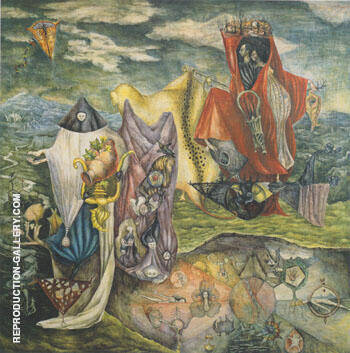 Chiki ton pays 1947 By Leonora Carrington - Oil Paintings & Art Reproductions - Reproduction Gallery