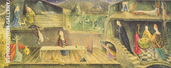 The House Opposite 1945 By Leonora Carrington - Oil Paintings & Art Reproductions - Reproduction Gallery