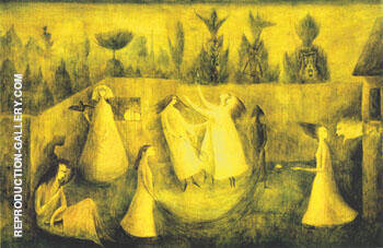 The Hour of the Angelus 1949 By Leonora Carrington - Oil Paintings & Art Reproductions - Reproduction Gallery