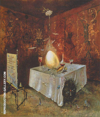 AB EO Quod 1956 By Leonora Carrington - Oil Paintings & Art Reproductions - Reproduction Gallery