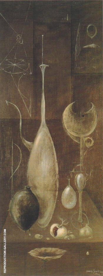 Naturaleza Muerta Still Life 1960 By Leonora Carrington - Oil Paintings & Art Reproductions - Reproduction Gallery