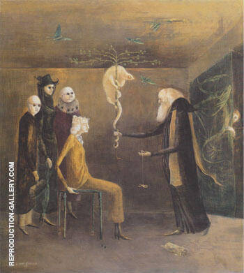 Syssigy 1957 By Leonora Carrington - Oil Paintings & Art Reproductions - Reproduction Gallery