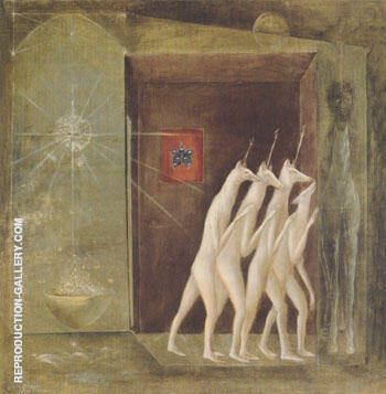 The Floor 4706th 1958 By Leonora Carrington - Oil Paintings & Art Reproductions - Reproduction Gallery