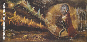 Le Grand adieu 1958 By Leonora Carrington - Oil Paintings & Art Reproductions - Reproduction Gallery