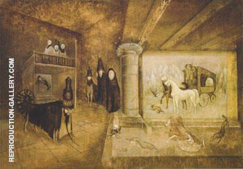 El Rarvarok 1963 By Leonora Carrington - Oil Paintings & Art Reproductions - Reproduction Gallery