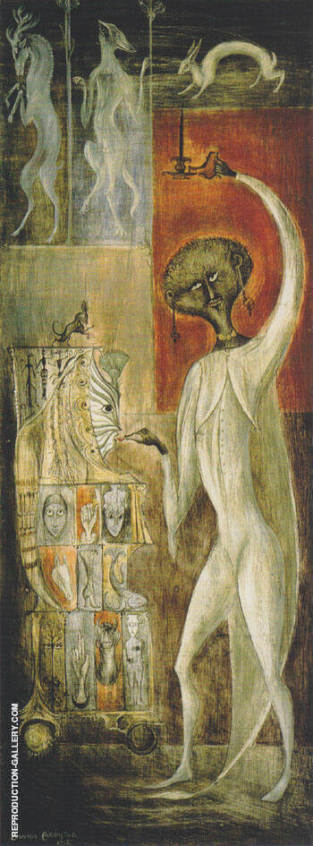 Animus Macquina 962 By Leonora Carrington - Oil Paintings & Art Reproductions - Reproduction Gallery