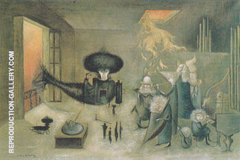 Friday the 13th 1965 By Leonora Carrington - Oil Paintings & Art Reproductions - Reproduction Gallery