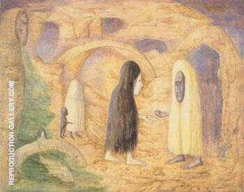 The Magdalens 1986 By Leonora Carrington