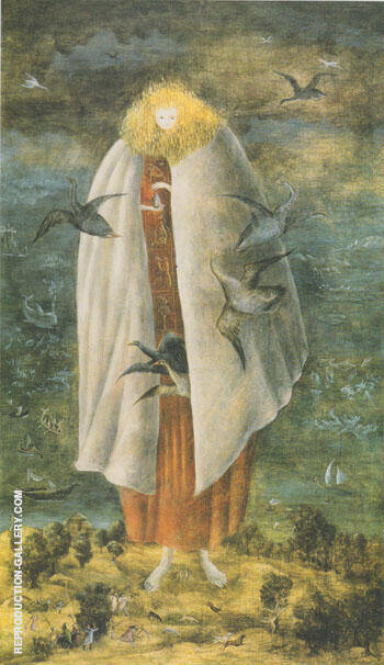 The Giantees 1950 By Leonora Carrington - Oil Paintings & Art Reproductions - Reproduction Gallery