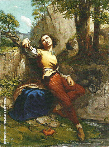 The Sculptor 1845 Painting By Gustave Courbet - Reproduction Gallery