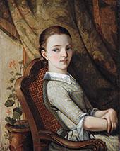 Portrait of Juliette Courbet 1844 By Gustave Courbet