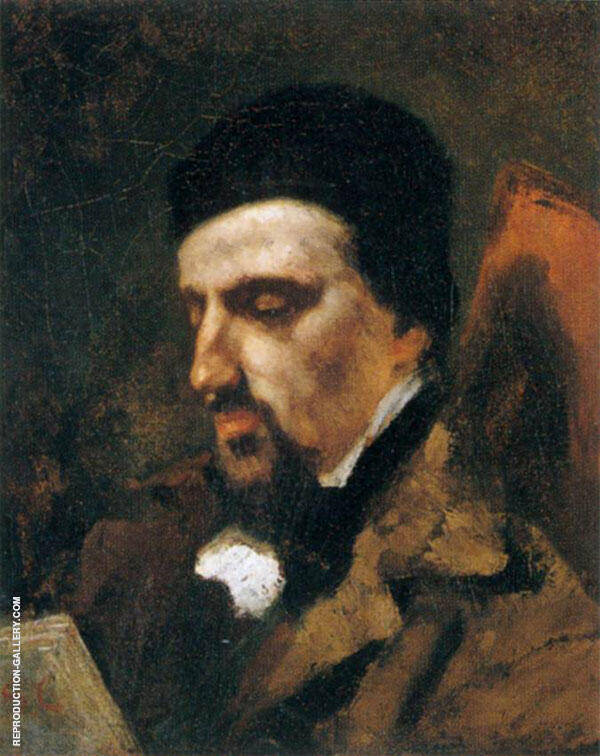 Adolphe Marlet 1851 Painting By Gustave Courbet - Reproduction Gallery