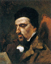 Adolphe Marlet 1851 By Gustave Courbet