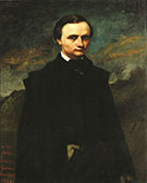 Clement Laurier 1855 By Gustave Courbet