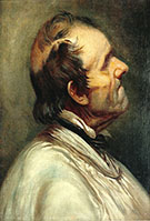 Father Bonnet ca.1849 By Gustave Courbet