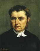 Emile Ollivier ca 1862 By Gustave Courbet