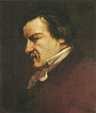 Champfleury 1855 By Gustave Courbet