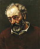 Paul Chenavard 1869 By Gustave Courbet
