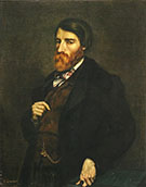 Alfred Bruyas 1853 By Gustave Courbet