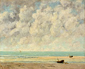 The Calm Sea 1869 By Gustave Courbet