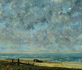 The Sea 1872 By Gustave Courbet