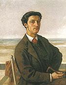 Monsieur Nodler the Elder 1865 By Gustave Courbet