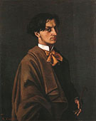 Monsieur Nodler the Younger 1865 By Gustave Courbet