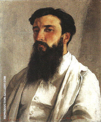 Jules Bordet 1870 By Gustave Courbet