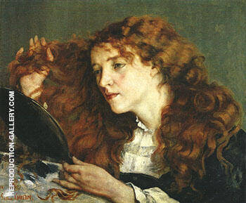 Jo the Beautiful Irishwoman 1866 By Gustave Courbet