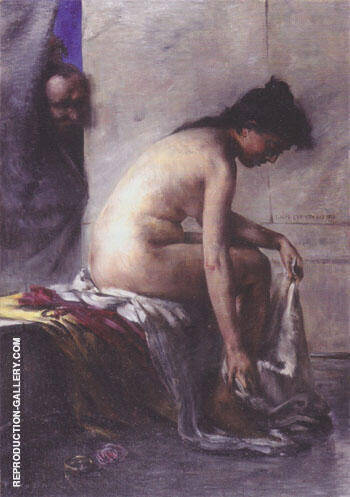 Susanna in the Bath 1890 By Lovis Corinth Replica Paintings on Canvas - Reproduction Gallery