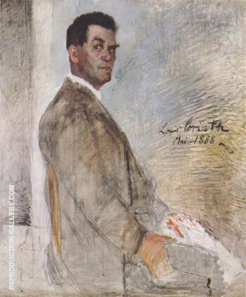 Portrait of his Father Franz Heinrich Corinth 1888 By Lovis Corinth
