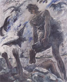 Cain 1917 By Lovis Corinth