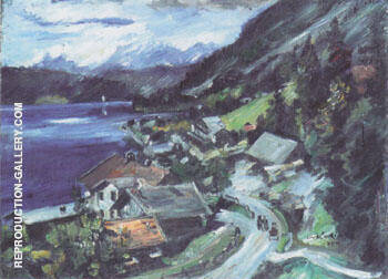 Walchensee Serpentine 1920 By Lovis Corinth