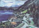 Walchensee Serpentine 1920 By Lovis Corinth