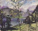 Walchensee Landscape 1919 By Lovis Corinth