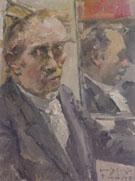 Last Self Portrait 1925 By Lovis Corinth