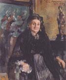 Frau Marie Moll 1905 By Lovis Corinth
